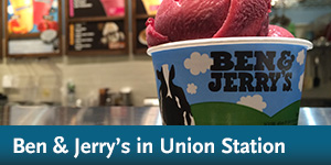 Ben & Jerry's in Union Station