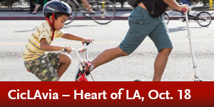 CicLAvia – Heart of LA,  Oct 18