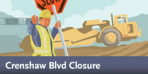Crenshaw Blvd Closures