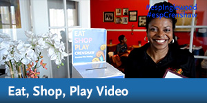Eat, Shop, Play Video