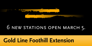 Gold Line Foothill Extension