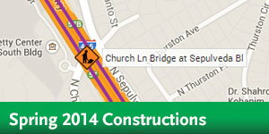 I-405 - Spring Closure Map
