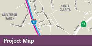 I-5 Enhancements - Map
