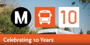 Metro Orange Line - 10th Anniversary