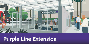Metro Purple Line Extension | Eat Shop Play
