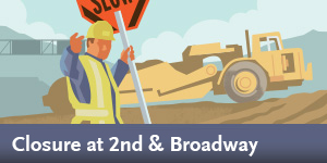 Regional Connector -  Construction Notice