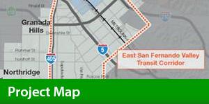 Sepulveda Pass Transit Corridor - Map