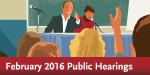 Service Changes - Public Hearings