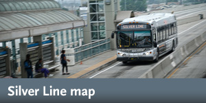 Silver Line map