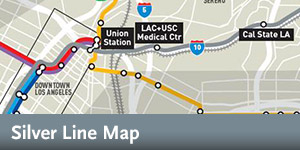 Silver Line - Overview Map