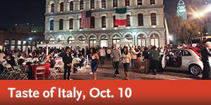 Taste of Italy, Oct. 10